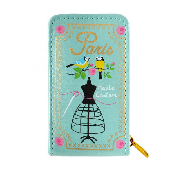 Trousse de couture garnie bleue originale derri re la porte for Trousse couture garnie
