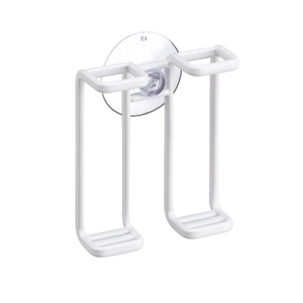 porte brosse a dents blanc design et pratique accessoires salle de bain pas cher
