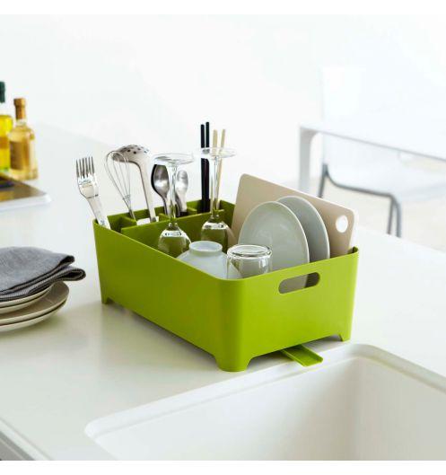 Egouttoir vaisselle vert design et petit egouttoir seche vaisselle pas cher - Petit egouttoir vaisselle ...