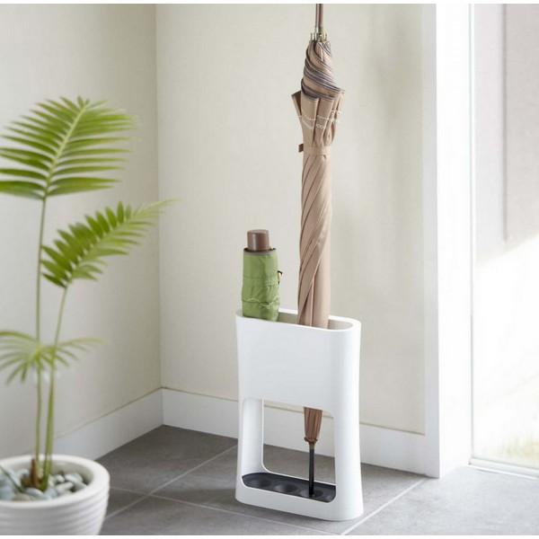 porte parapluie blanc design porte parapluie pas cher avec bas de r tention d 39 eau. Black Bedroom Furniture Sets. Home Design Ideas