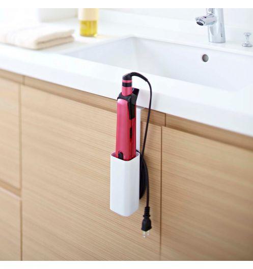 Support lisseur porte fer lisser et accessoire salle - Support salle de bain ...