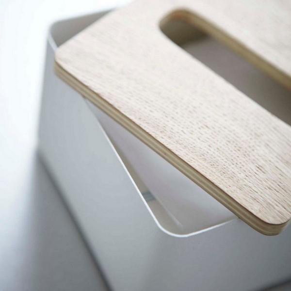 boite mouchoirs carr e en bois et en m tal boite mouchoir bois petit prix. Black Bedroom Furniture Sets. Home Design Ideas