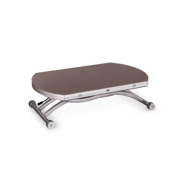 Table basse design marron table extensible - Table basse marron ...