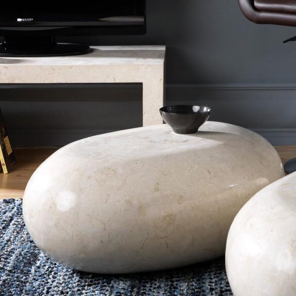 table basse galet design tables originales. Black Bedroom Furniture Sets. Home Design Ideas