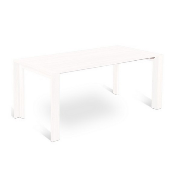 Table laquee blanche extensible 28 images table for Table salle a manger extensible blanche