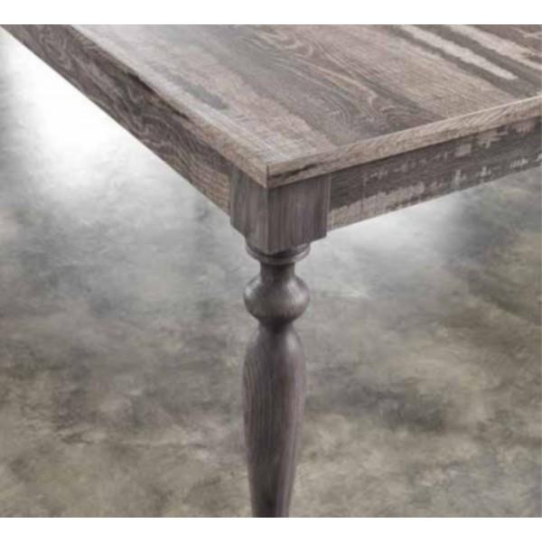 Table console extensible bois massif salle manger - Table extensible en bois ...