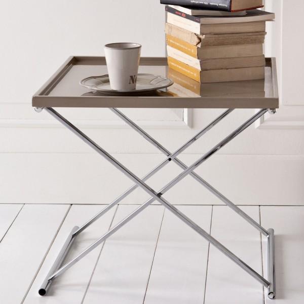 table basse design taupe milla. Black Bedroom Furniture Sets. Home Design Ideas