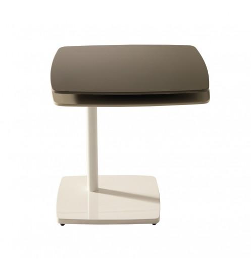 table basse grise marron. Black Bedroom Furniture Sets. Home Design Ideas