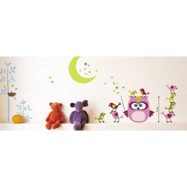 stickers enfant animaux stickers chambre enfant color. Black Bedroom Furniture Sets. Home Design Ideas