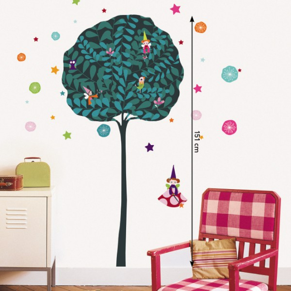stickers enfant color s stickers chambre fille. Black Bedroom Furniture Sets. Home Design Ideas