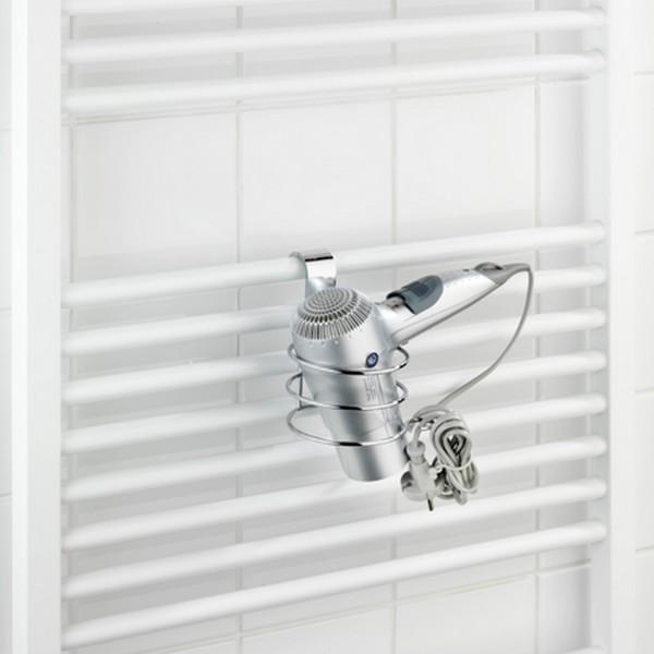 porte s che cheveux accessoires salle de bain. Black Bedroom Furniture Sets. Home Design Ideas