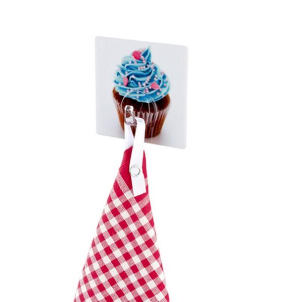 porte torchon cupcakes  accroche torchon souple