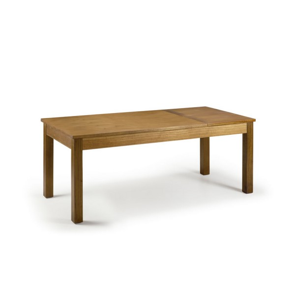 Table de salle a manger extensible table a manger en bois for Table salle a manger extensible