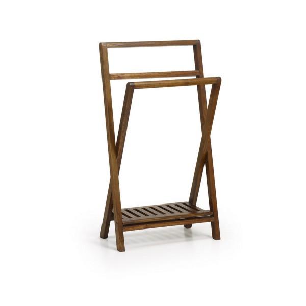 porte serviette en bois accroche serviette pliable. Black Bedroom Furniture Sets. Home Design Ideas