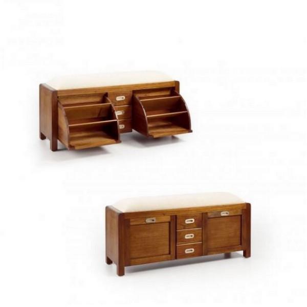 meuble a chaussure en bois meuble chaussures avec rangements. Black Bedroom Furniture Sets. Home Design Ideas