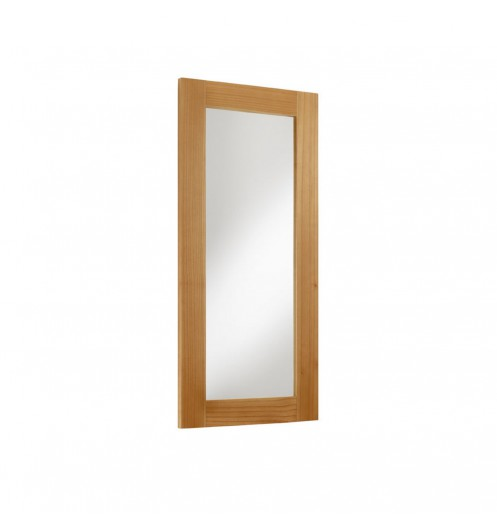 Miroir pas cher marron miroir mural en bois for Grand miroir bois brut