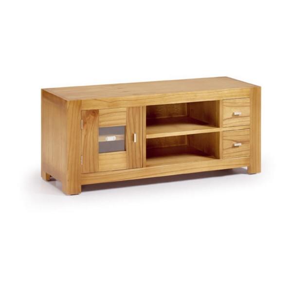 meuble tv en bois indon sien meuble tv pas cher. Black Bedroom Furniture Sets. Home Design Ideas