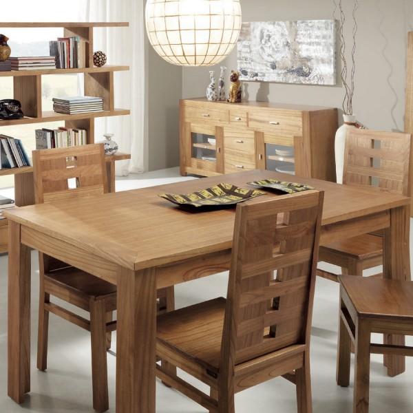 Table de salle a manger en bois table a manger pas cher - Table a manger en bois pas cher ...
