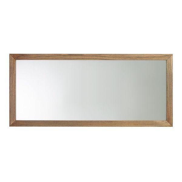 Miroir en bois miroir chambre ou salon d coration for Miroir en longueur