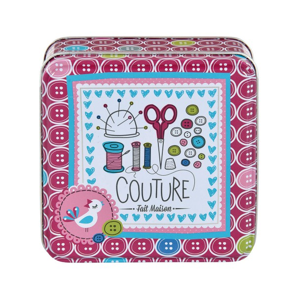 Boite en m tal pour la couture boite illustr e par val rie nylin - Blog couture deco maison ...