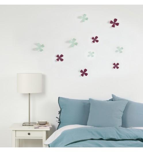Deco murale fleurs d coration murale for Decoration murale umbra