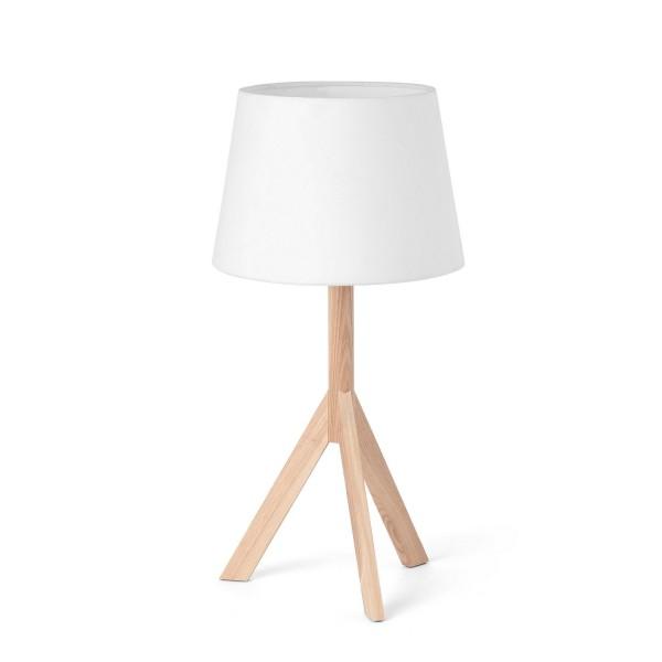lampe de chevet en bois faro. Black Bedroom Furniture Sets. Home Design Ideas