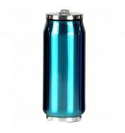 Mug isotherme canette turquoise 500ml