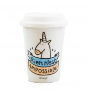Mug licorne Take Away Mr Wonderful