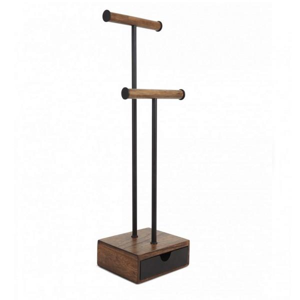 porte bijoux en bois avec tiroir umbra. Black Bedroom Furniture Sets. Home Design Ideas