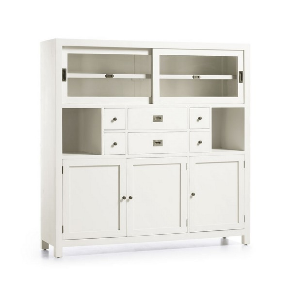 Buffet salle manger blanc buffet design for Buffet salle a manger blanc design