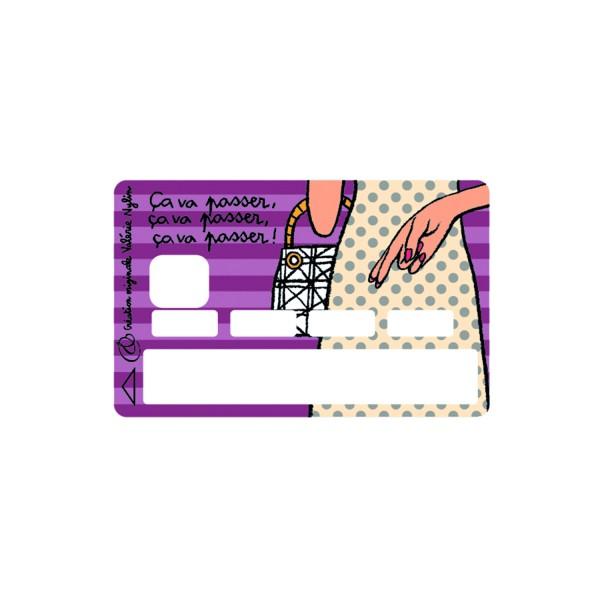 carte bancaire personnalis e sticker carte bleue. Black Bedroom Furniture Sets. Home Design Ideas