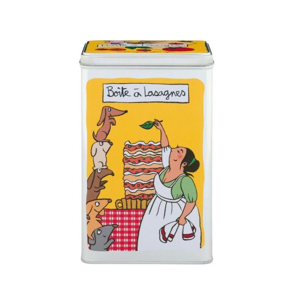 Boite lasagnes dlp boite de conservation for Boite derriere la porte soldes