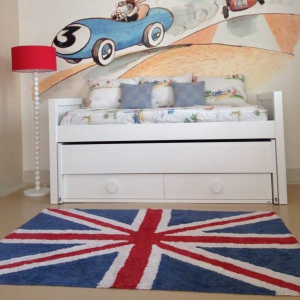 Carrelage design tapis drapeau anglais moderne design for Carrelage anglais