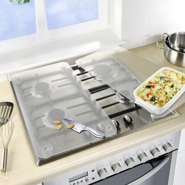 Protege plaque couvre plaque transparent - Plaque de protection murale pour cuisine ...