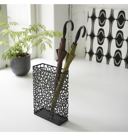 Porte parapluie noir design accessoires pluie marque for Porte parapluie ikea