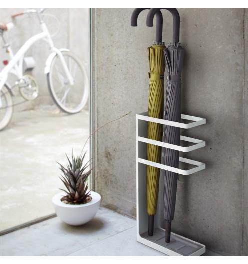 Porte parapluie blanc d coration tendance yamazaki for Tendance decoration porte