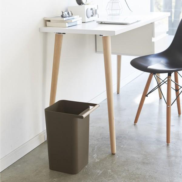 Poubelle design marron poubelle de bureau d coration - Poubelle de bureau design ...