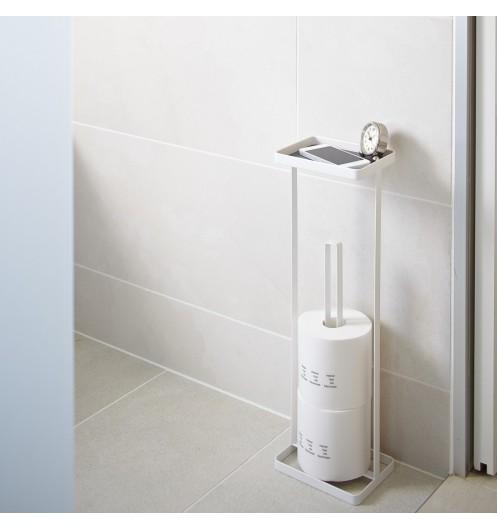 porte papier toilette originale acessoires wc yamazaki. Black Bedroom Furniture Sets. Home Design Ideas