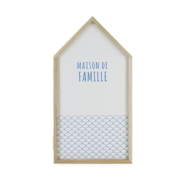 boite cl s blanche maison de famille d coration concept factory. Black Bedroom Furniture Sets. Home Design Ideas
