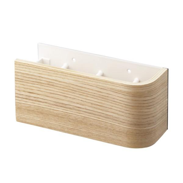 Boite cl s magn tique bois beige accessoires yamazaki - Boite a cles bois ...