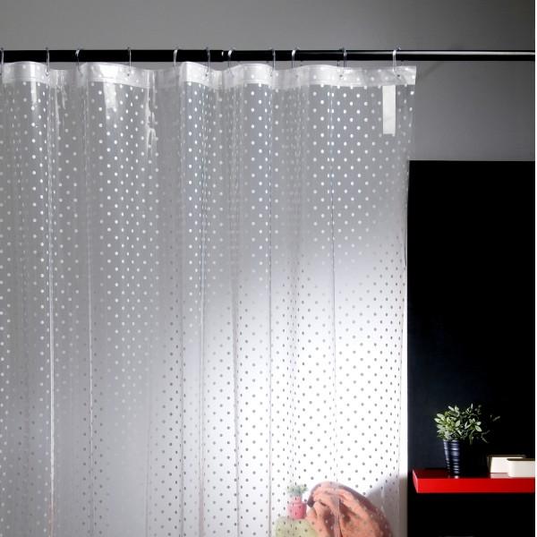 rideau de douche transparent d co accessoires pour la douche. Black Bedroom Furniture Sets. Home Design Ideas