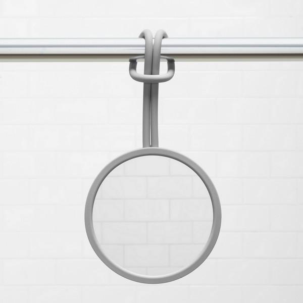 miroir de douche flexible miroir anti bu e salle de bain