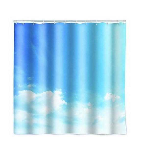 Rideau de douche original nuage accessoires salle de for Rideau de douche original