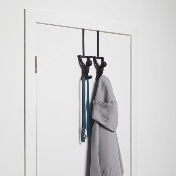 Porte manteaux de porte pat re buddy originale - Patere de porte ...