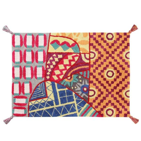 tapis salon multicolore tapis original lavable en machine. Black Bedroom Furniture Sets. Home Design Ideas