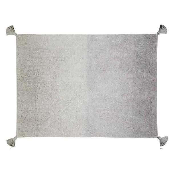 tapis gris clair d grad tapis salon lavable en machine. Black Bedroom Furniture Sets. Home Design Ideas