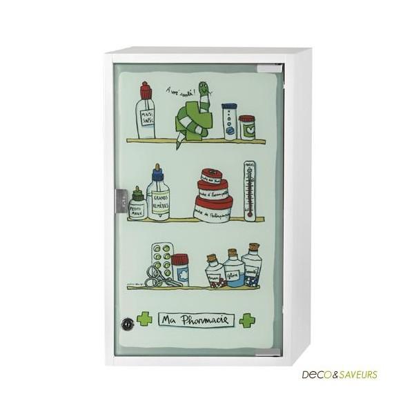 armoire pharmacie derri 232 re la porte quot ma pharmacie quot boutique d 233 co