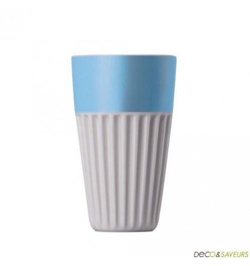 mug sans anse en porcelaine thomas bleu deco et. Black Bedroom Furniture Sets. Home Design Ideas