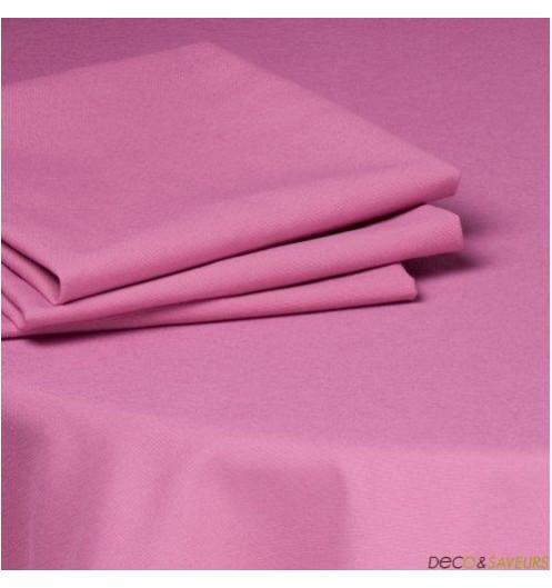serviette de table tissu coton 50x50cm fushia deco et. Black Bedroom Furniture Sets. Home Design Ideas