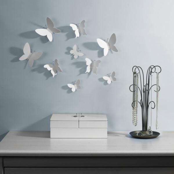 D coration murale papillon umbra mariposa deco et - Accrocher photos au mur ...